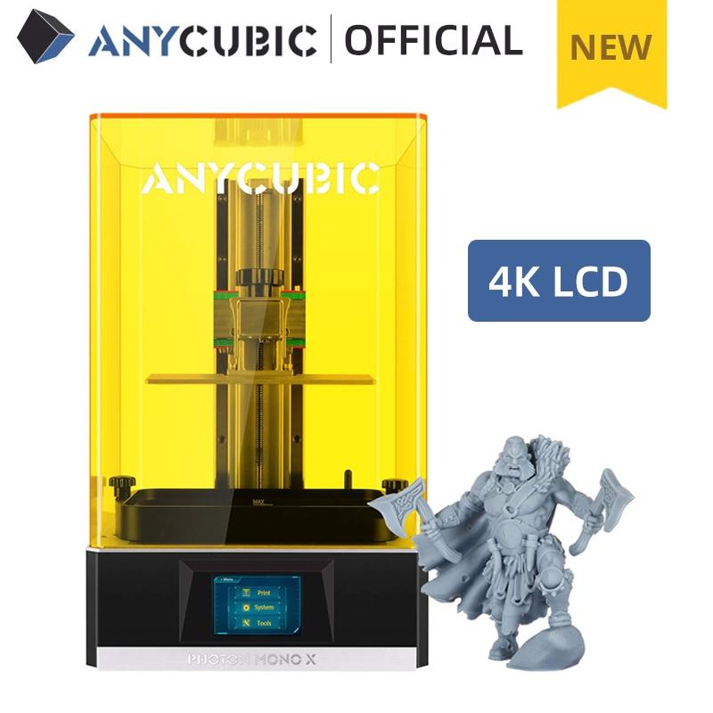 ANYCUBIC 3D Printer Photon Mono X, UV CD Resin Printer with 4K Monochrome Screen, App Remote Control