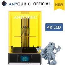 Anycúbico fóton da impressora 3d mono x, impressora uv da resina do cd com tela monocromática de 4k, controle remoto do aplicativo, tamanho da cópia 192*120*250mm