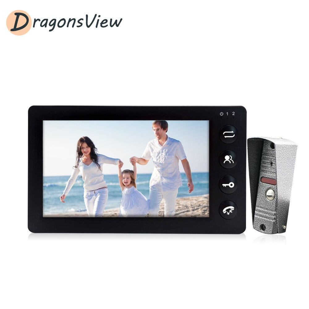 DragonsView Video Doorbell Home Intercom 7'