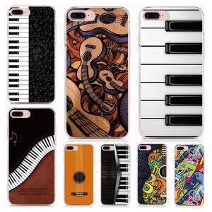 For Infinix Hot 9 9 Play 8 X650B 7 X624 6 Pro 5 4 2 Zero 3 Note X551 S3 X573 S case Soft TPU Guitar piano Phone Cases