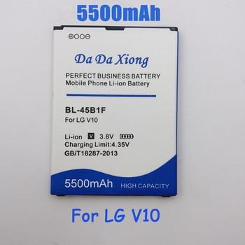 5500mAh BL-45B1F BL45B1F Batteria per LG V10 H961N F600 H900 H901 VS990 H968 Sostituzione della batteria del telefono