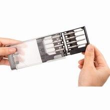 Cacciavite magnetico Set di 16 in 1 con 22 bit, s2 di Precisione In Acciaio di Riparazione Tool Kit per iPhone/Computer/Elettronica/Computer Portatili Nanch