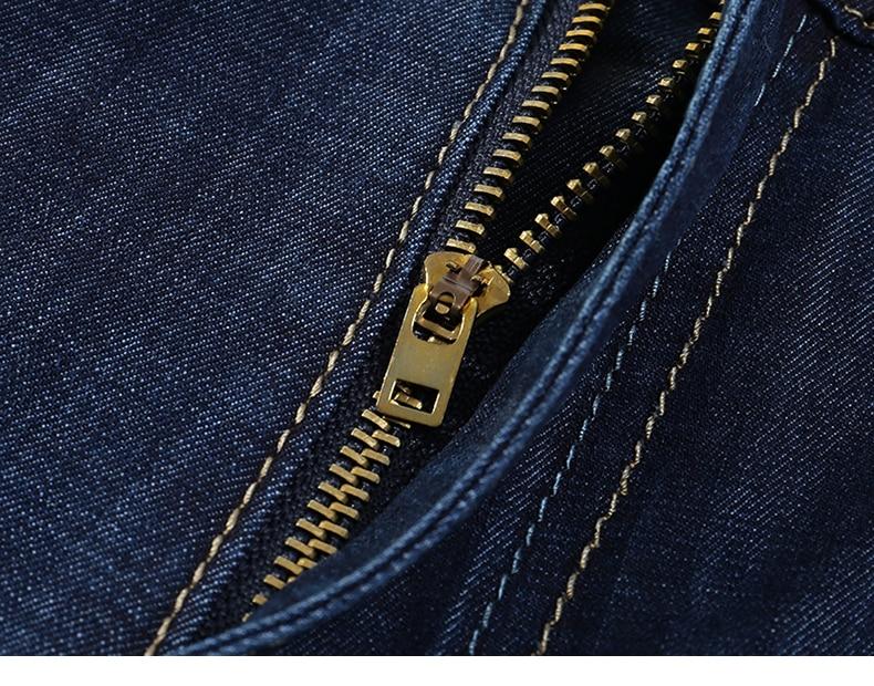 KSTUN Jeans Men Shorts Dark Blue Ultrathin Stretch Business Casual Straight Regular Fit Male Denim Short Pants Mens Shorts Homme 16