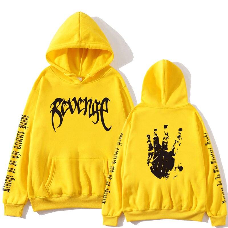Xxxtentacion Revenge Hoodie Men / Women Sweatshirt Rapper Hip Hop Hoodie PulloverSweatershirts Men / Women Hoodie Men