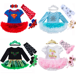 Party Dress Costume for Baby girl Romper Baby Clothes Newborn Birthday Dress New Year Girl Bebe Clothing Toddler Infant Dresses