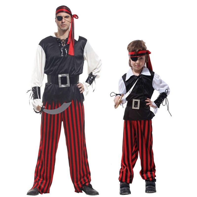 Cutthroat Pirate Boys Costume