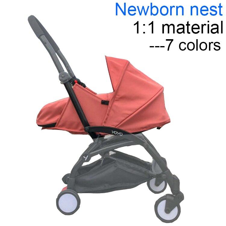 Baby Stroller Accessories Newborn Nest Sleeping Basket Pram Winter Sleeping Bag For Babyzen Yoyo Yoya Babytime Winter Footmuff