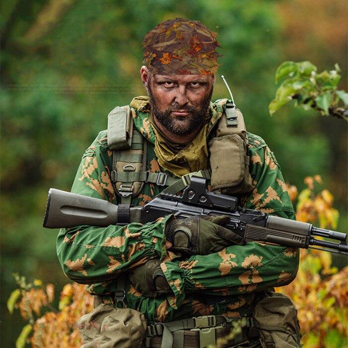 Alta guerra jogo camuflagem sniper boné camuflagem