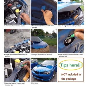 """Image 5 - VR   1.25 """"uniwersalny JDM Style Push Button Billet Hood Pins blokada klip zestaw samochodów szybkie szpilki dla BMW ect VR HPL04/05"""