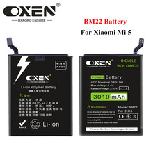 OXEN 3010mAh BM22 Battery for  Xiaomi Mi 5 Mi5 M5 High Quality Replacement Batteria Rechargeable Lithium Batteries Free Tools new laptop bottom case for asus gl552 series gl552 gl552jx gl552vx gl552vl gl552vw d shell