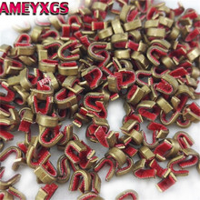 20/30/50pcs Archery String Nocking Points Brass Buckle Clips Nock Bow Protector For Compound Shooting Accessories