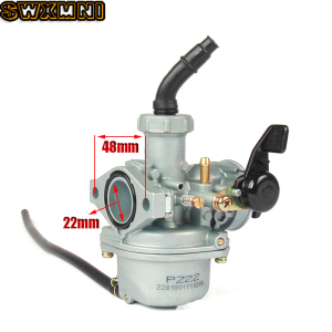 Motorcycle Carburetor Engine PZ22 22mm Carburetor For 125cc KAYO Apollo Bosuer Xmotos Kandi Dirt/Pit Bikes(China)