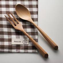 Плетеный абажур из натурального дерева ложка и вилка набор Кухня