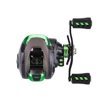 Fishing Reel 7.1:1 High Speed Gear Ratio Spinning Reel Left Right Aluminum Spool Handle Fishing Wheel Fishing Reel