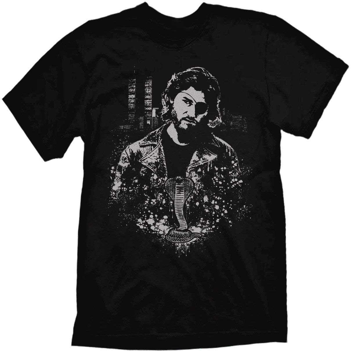 Escape From New York T Shirt Men Women Snake Plissken Artwork By Jared Swart Casual Plus Size TEE Shirt(China)