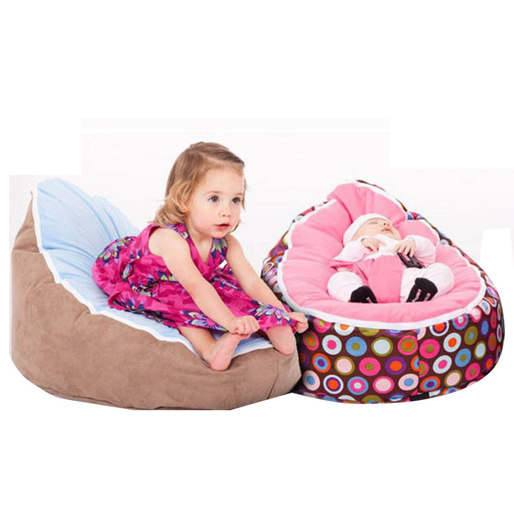 Baby Sofa Cover Baby Chair Support Seat Newborn Seat 0-24M Sofa Suede Velvet Multifunctional