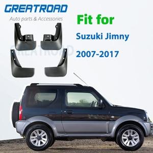 Mudguards for Suzuki Jimny 2007-2017 Mud Guards ABS Car Exterior Protect Decoration Splash Flaps Fenders Car Accessories