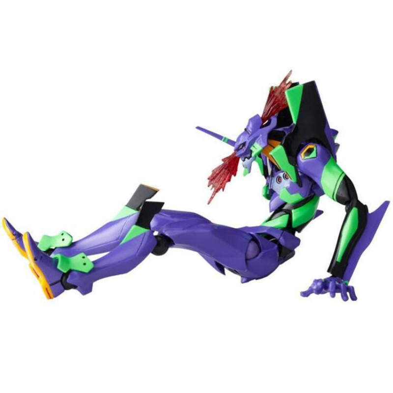Image 2 - evangelions 6cm NEON GENESIS EVA light Action figure toys collection doll Christmas birthday gift with box Speelgoed PopAction & Toy Figures   -