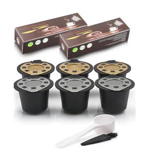 Capsules Nespresso r/éutilisables et rechargeables pour machines Nespresso Red compatible originalLine