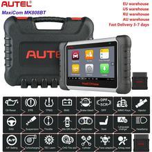Autel أداة تشخيص السيارات MK808BT ، ماسح رمز OBD2 ، لأي نظام DPF EPB US