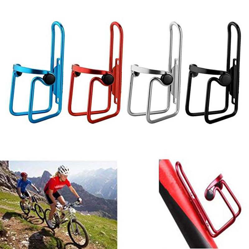 MTB Bike Water Bottle Cage Cycling Alloy Cup Bracket Rack Holder 3 Colors