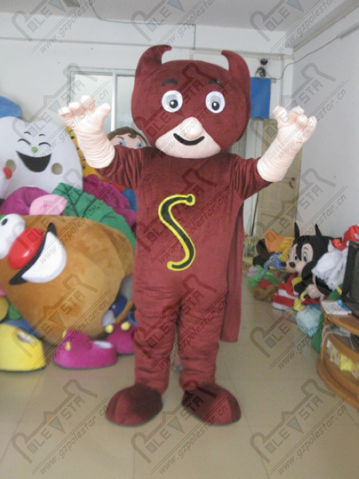 quality mask superman mascot costumes professional monster bull costumes design OEM party costumes