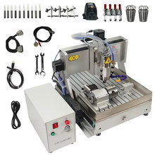 CNC Router Cutting-Machine Water-Tank Metal Milling Engraving-Tools 4-Axis USB