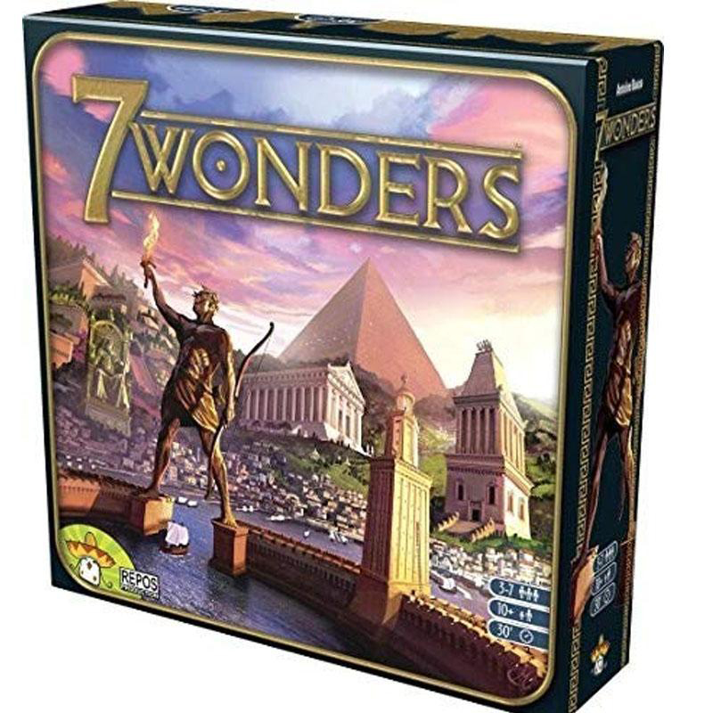 7 Wonders / Duel Board Game Multi-Colored Cards Family Home Entertainment Strategy Toy And Gift Playing Cards