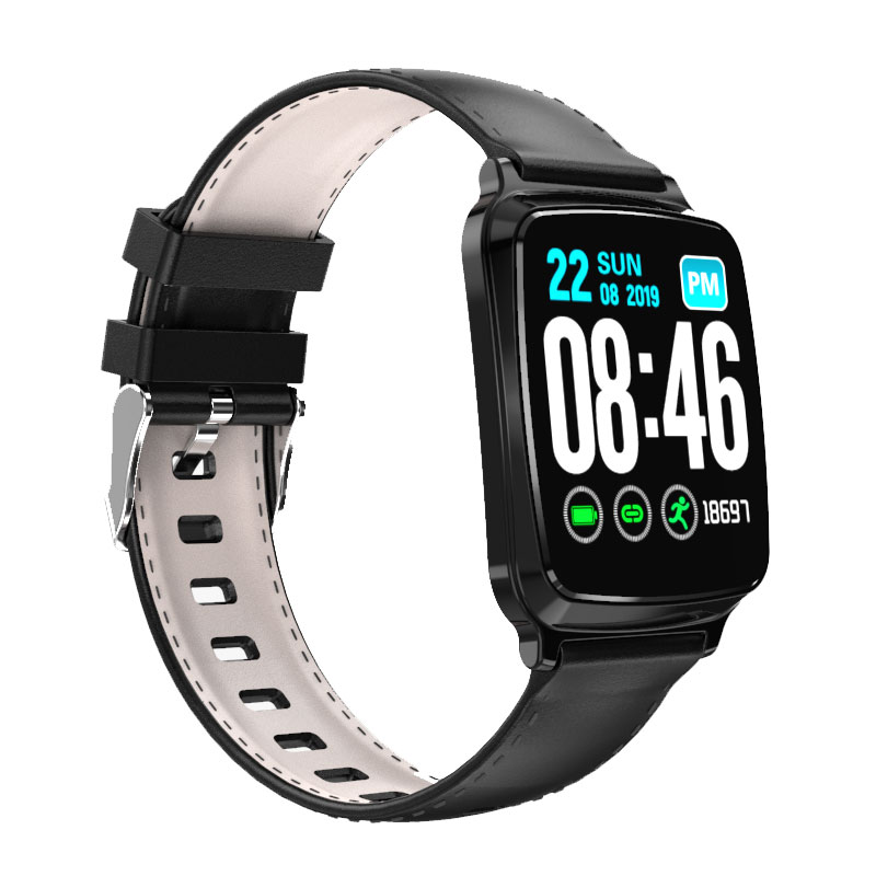 <font><b>M8</b></font> <font><b>Smart</b></font> <font><b>Watch</b></font> Men Waterproof Blood Pressure Smartwatch Women Heart Rate Monitor Fitness Tracker <font><b>Watch</b></font> for Android Ios Black image