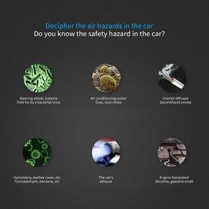 Image 5 - Ambientador de ar do carro usb mudo vento ajustável íons negativos purificador de ar máquina dispositivo purificador de ar do carro difusor de ar prático