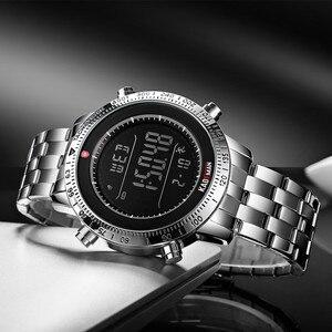 Image 3 - KADEMAN 패션 스텝 남자 시계 밀리터리 스포츠 시계 럭셔리 톱 브랜드 크로노 그래프 손목 시계 캐주얼 남성 야외 시계 Relogio