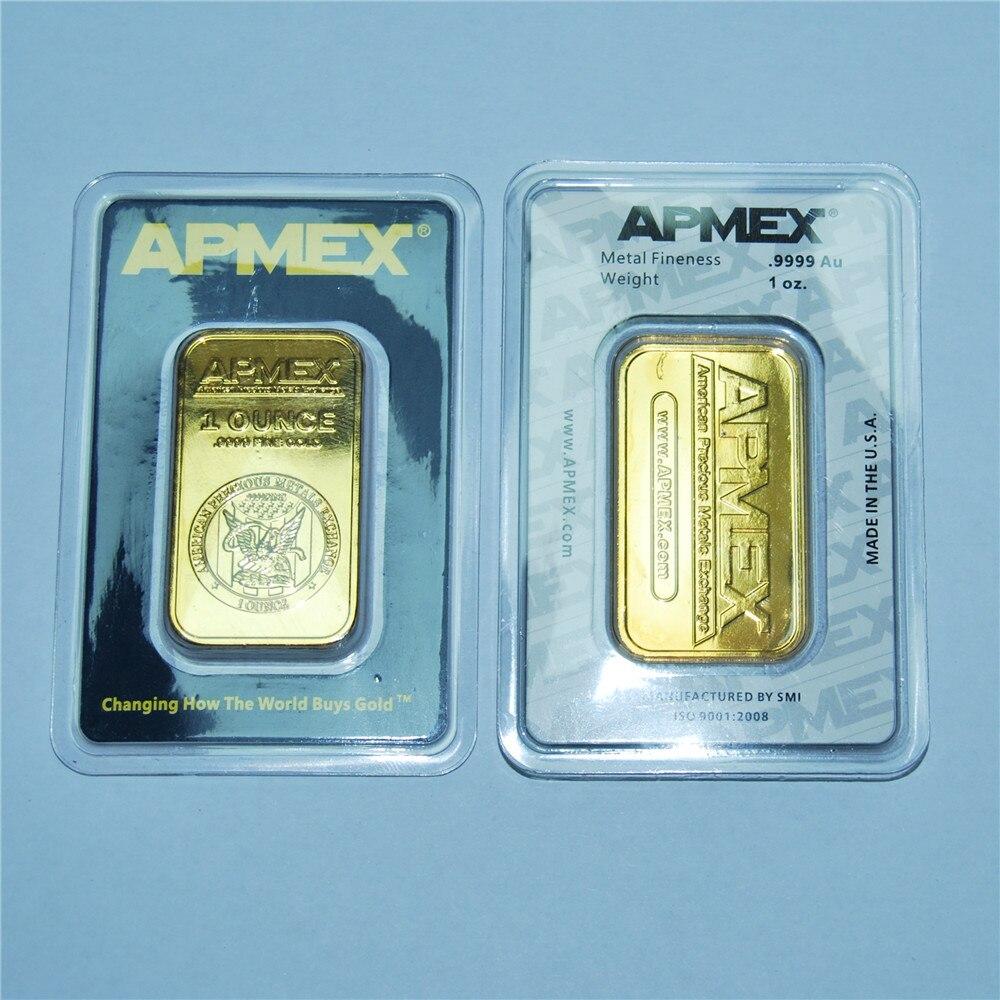 O perth hortelã 1 oz troy 99.99% puro ouro chapeado réplica lembrança austrália alto relevo token barra de ouro dhl frete grátis