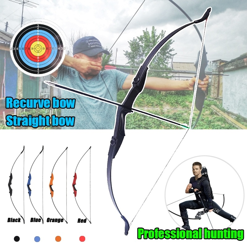 125cm Recurve Bow Archery 30 40 Lbs Hunting Shooting Target Practice Takedown Bow For Adults Left Right Handed 4 Colors
