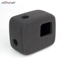 SOONSUN Wind Noise Reduce Foam Windshield Cover Windproof Sponge for GoPro Hero 5/6/7 Camera w/ Standard Frame Go Pro Accessory