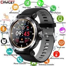 Sport Smart Uhr Männer Voller Touch Runde Bildschirm Schlaf Monitor Smartwatch Frauen Blutdruck Herz Rate Fitness Tracker Uhren