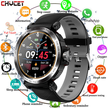Sport Smart Watch Men Full Touch Round Screen Sleep Monitor Smartwatch Women Blood Pressure Heart Rate Fitness Tracker Watches