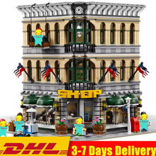 Creator City Grand Emporium Shop Street Classic Expert Model Building Blocks Sets Bricks Kids Kits Toys Children Compatible