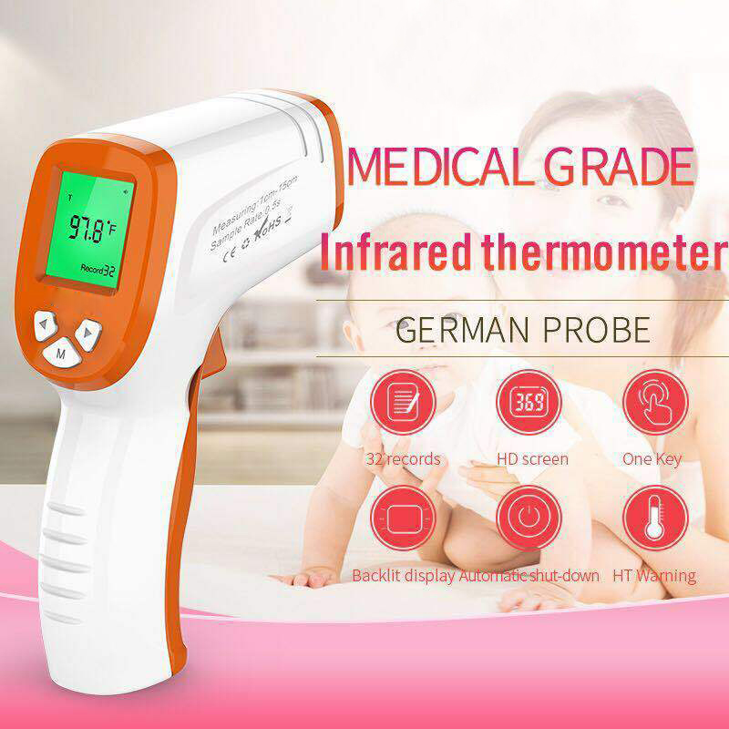 Handheld Infrared Thermometer Temperature Meter Non-contact Forehead Measuring for Adult Baby GK99
