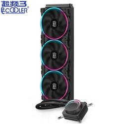 PCCooler GI-AH360C AH280C Cpu Pendingin Air 120 Mm Halo RGB Fan untuk AMD AM4 AM3 Intel 2011 2066 115X CPU cairan Pendingin Radiator