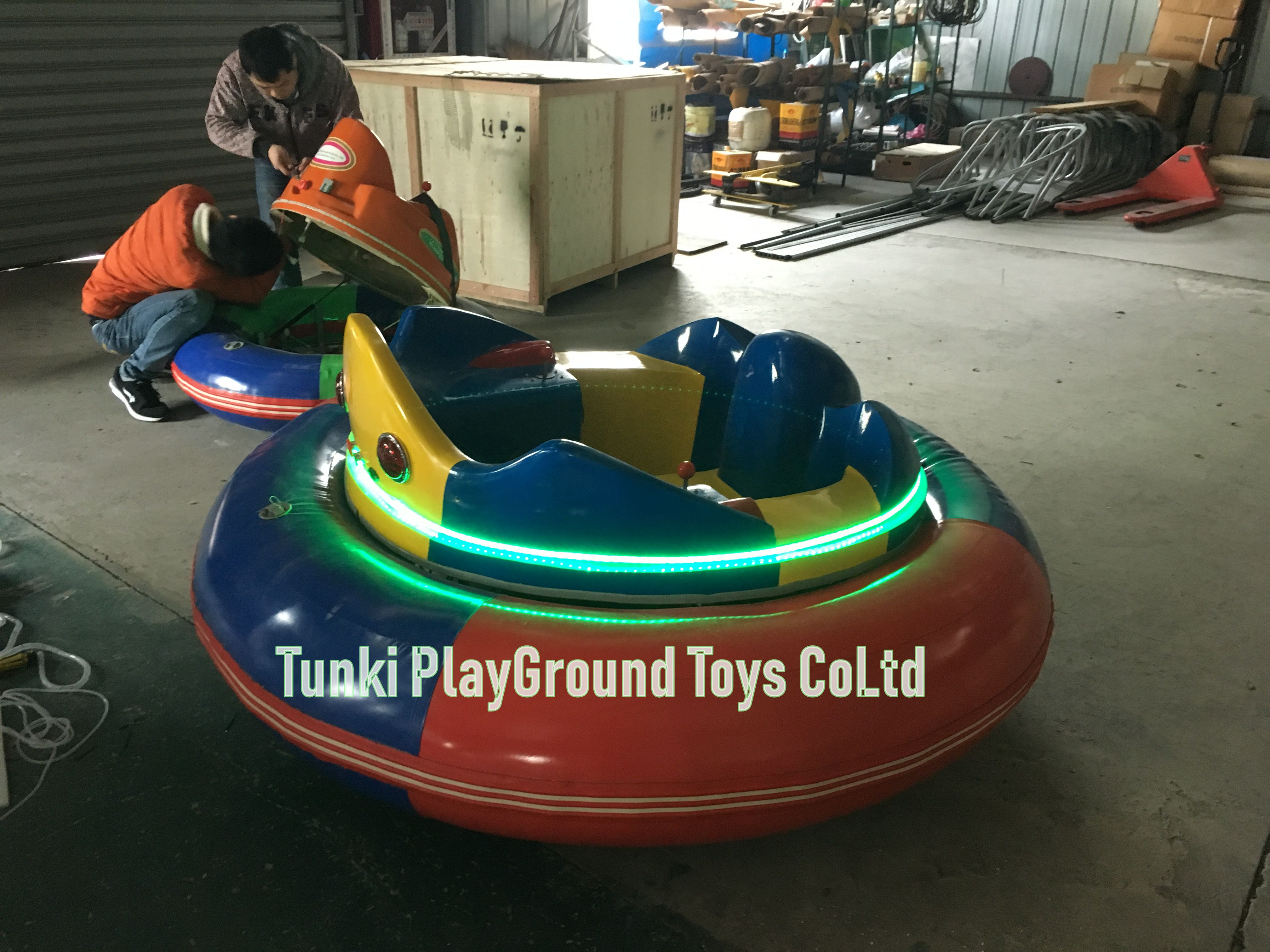 Certificate Popular Fun Mall Rides Indoor Inflatable Bumper Cars For Children