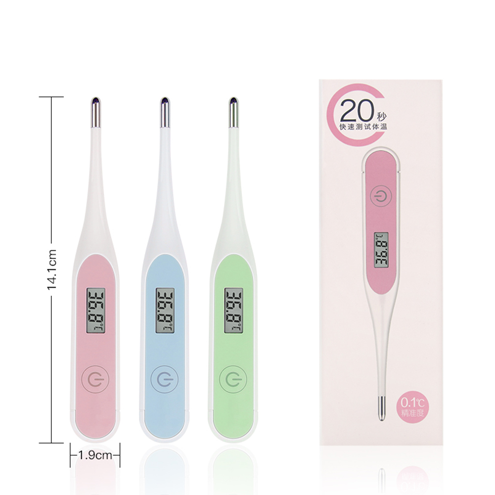 Electronic Thermometer Household Digital Temperature Oral Anal Measuring  Child Kids Thermometer Temperature Measurement Dropshi