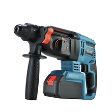 Charging Lithium Hammer Multifunction Brushless Impact Drill lithium Battery Electric Drill High Power Electric Electric Pick electric hammer drill diold прэ 9 power 1500 w speed from 0 to 750 rpm