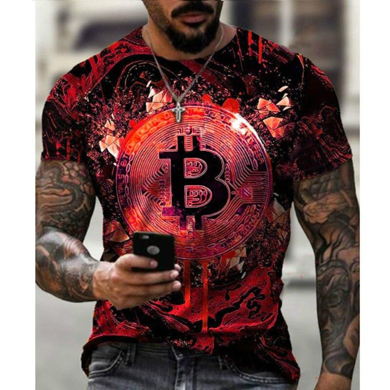 2021 New Bitcoin RevolutIon Shirt Bitcoin CRYPTO SHIRT - CRYPTO CURRENCY 3D T-SHIRT Cool Casual Pride T Shirt Men Unisex Fashion 4