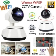 720p Wireless Wifi IP Indoor Camera Home Security Camera Audio Sound Video Surveillance Baby Monitor Wifi CCTV IP Cam CM.V8