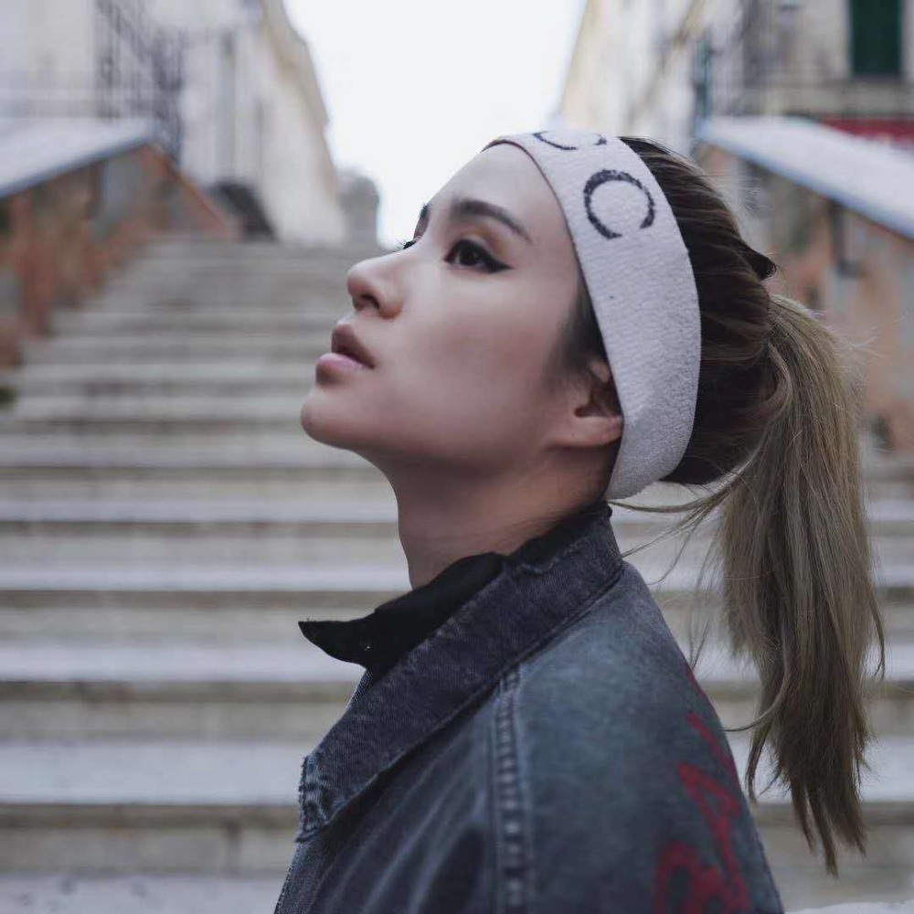 Unisex Turban Striped Designer Headband Sports Letters Moon Sweatbands Hair Accessoires Fashion Brand Headbands