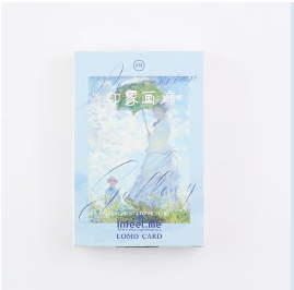 52mm*80mm Good Impression Paper Greeting Card Lomo Card(1pack=28pieces)