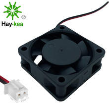 2 PCS 4015 Brushless Fan DC 5V 12V 24V 4cm 40mm Cooler Small Cooling Fan 40X40X15mm XH2.54-2Pin