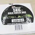 14cm große runde papier selbst klebe aufkleber label produkte glänzend laminierung label für geschenke/candy hochzeits faovrs individuelles logo 1000 stücke