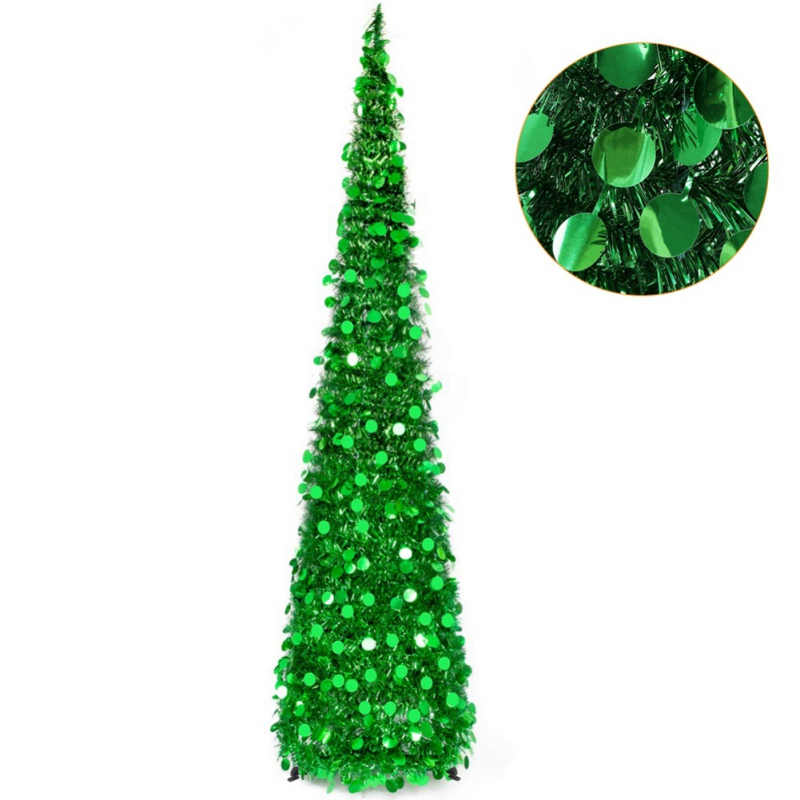 Hot Promo 1cb06 15m Diy Sequin Christmas Tree Popup