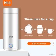 400ml Portable Electric KettlesThermal Cup Make tea Coffee Travel Boil water Keep warm Smart Water Kettle Kitchen Appliances